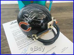 Walter Payton Signed Autographed Chicago Bears Mini Helmet Psa/dna Coa B