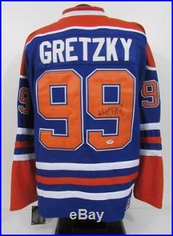 Wayne Gretzky Edmonton Oilers Autographed/Signed CCM Jersey PSA/DNA Letter 304