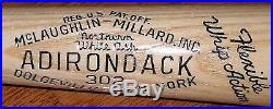 Willie Mays Autographed Signed Adirondack Bats Psa/dna + Signing Photo + Holo X1