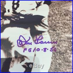 Yogi Berra Don Larsen Signed Autographed 8x10 Baseball Photo Psa Dna Coa